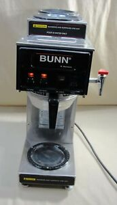 Bunn S Series Commercial Automatic Coffee Brewer Maker 3 Burner Warmers