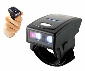 Arkscan As500 Bluetooth 4 1 Le Wireless Ring Mini Barcode Scanner 1d Reader For