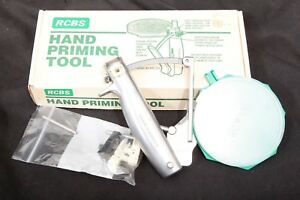 RCBS Hand Priming Tool: Large & Small Primers for Standard Shellholders