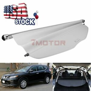 Us Gray Retractable Cargo Cover Rear Trunk Luggage Shade For Nissan Rogue 14 17