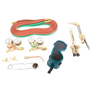 Forney 1680 Jet Flame Light medium Duty Victor Style Oxyacetylene Welding Kit