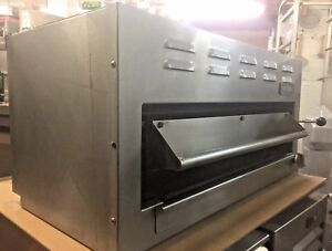 Imperial Isb 36 36 Salamander Cheese Melter Natural Gas Broiler Commercial