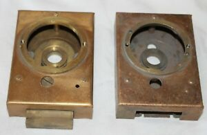 Lot Of Two Safe Lock Box Cases For Mosler B 6 Safes Replacement