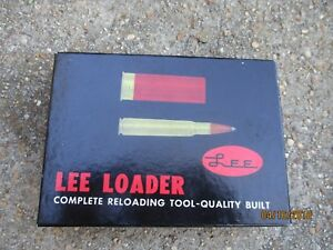 VINTAGE COMPLETE IN BOX LEE LOADER WINCHESTER 3030 RIFLE RELOADING TOOL KIT