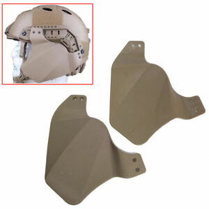Tactical FAST Helmet Side Rail Cover Hunting Accessory Fit IBHMich 2000ACH