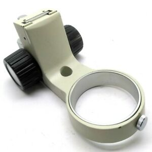 Microscope Holder Adjustable Focus Mounting Ring 76mm Id 53mm Travel 15mm Post