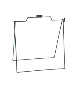 A Frame Metal Stand For Open House Sign For Realtor 18x24 Black Foldable 5 Pack