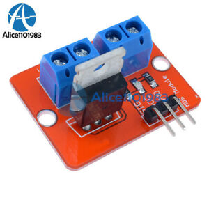10pcs Mosfet Button Irf520 Mosfet Driver Module For Arduino Arm Raspberry Pi