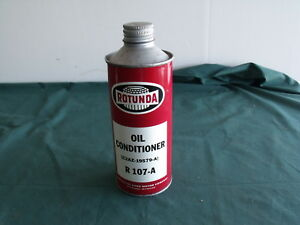 Nos Ford Galaxie Rotunda Oil Can Oil Conditioner Full Mustang Oem 1962 1963 1964