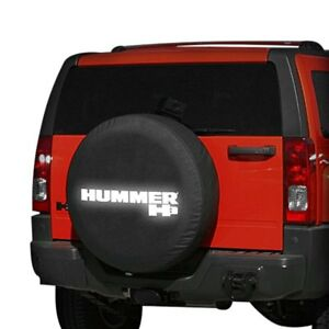 For Hummer H3 06 10 Boomerang Rtc h3 32 33 Black Reflective Spare Tire Cover
