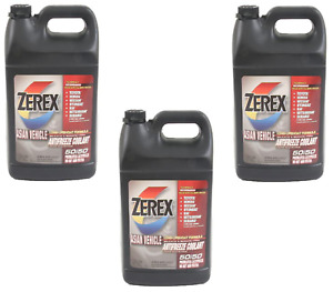 3 Gallons Pack Zerex Pink Engine Coolant Antifreeze Fluid Kit For Lexus Toyota