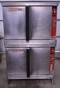 Blodgett Electric Mark V 111 Double Stack Deck Convection Oven Bakery 480v