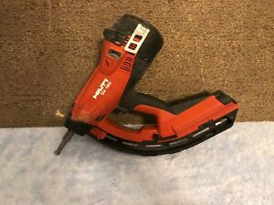 lotb Used Hilti Gx 120 Gm40 Gas Powered Actuated Nail Gun Fastening Tool