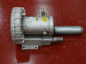 Gast R5325a 2 Blower 160 133hz W Baldor Motor 2 5 Hp Rpm 3450 2850 Fr56cz 3ph