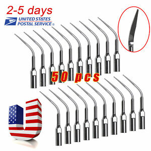 Us 50 Dental Scaling Tip Gd3 Fit Dte Satelec Ultrasonic Piezo Scaler Handpiece