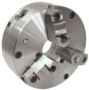 10 Gator Lathe Chuck 3 Jaw Tru Adjustable Forged Adapter1 101 1000