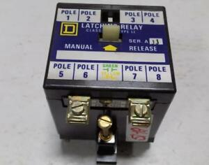 Square D Latching Relay Series A 8501 Ll