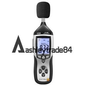 Mini Sound Level Meter 30db 130db W Tripod Mount W Usb Connect To Pc Dt 8851