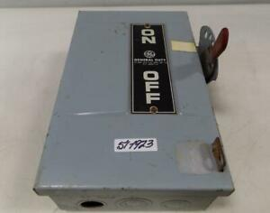Ge 30amp 240 Vac General Duty Safety Switch 266211 a