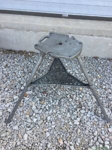 Genuine Ridgid 1206 Tristand For 300 Pipe Threader Stand Threading Tri Stand