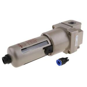 1 pt Pneumatic Air Filter Treatment Unit For Compressor Oil Water Separation