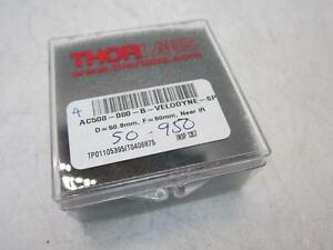 Thor Labs Ac508 080 b velodyne sp D 50 8mm F 80mm Near Ir
