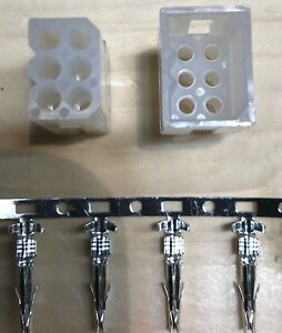 Western Fisher Replacement Controller Truck Side 6 Pin Plug Kit W Pins Unimount