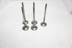 Xceldyne Titanium Exhaust Valves 11 32 X 1 625 Chevy Ford Del West Manley 17