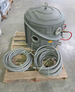 Amat Applied Materials 8330 8310 Chamber Bell Jar 150mm Metal Dry Etch System