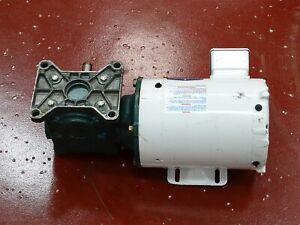 Baldor Cwdm3538 Electric Motor 5hp 230 460v W Tigear Reducer Ratio 10 1
