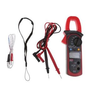 Ut204a Digital Clamp Meter Multimeter Dmm Ac Dc Ammeter Volt Temp Tester
