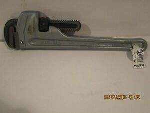 Ridgid 812 47057 12 Aluminum Pipe Wrench new With Tags Free pri shipping