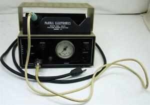 Mckoll Electronics Model 31 Vacuum Power Station With Tcp 1 Weller Iron
