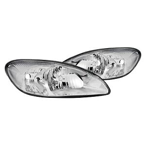 For Ford Taurus 2000 2007 Lumen 87 1001842 Chrome Factory Style Headlights