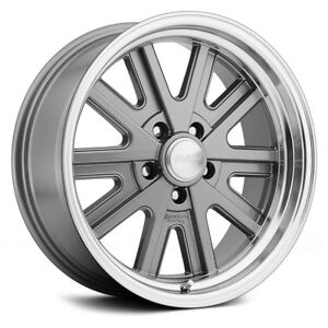 Ford Mustang American Racing Vn527 427 Mono Cast Wheels 15x7 16 5x114 3