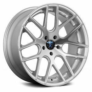 Porsche Cayenne 03 18 Rohana Rc26 Wheels 20x9 43 5x130 Silver Rims Set Of 4