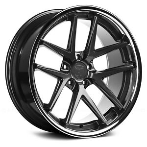 Porsche Cayenne 03 18 Rohana Rc9 Wheels 20x9 47 5x130 Graphite Rims Set Of 4