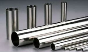 Alloy 316 Welded Stainless Steel 180 Grit Polished Round Tube 1 X 065 X 80