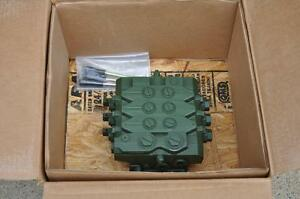 Parker 3 Spool Vpl Series Hydraulic Directional Control Valve Val3304 0004 062