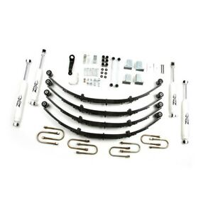 Zone Offroad 4 Suspension Lift Kit For 1987 1995 Jeep Yj Wrangler 4wd Gas