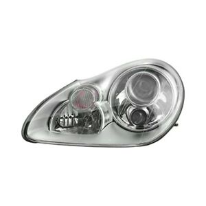 Porsche Cayenne 2003 2006 Replace Po2502111 Driver Side Replacement Headlight