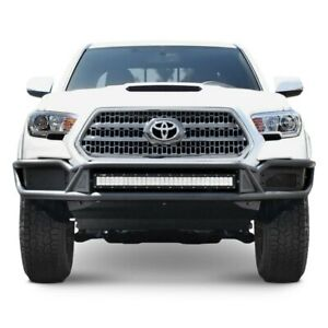 For Toyota Tacoma 16 17 Westin Outlaw Full Width Black Front Pre runner Bumper