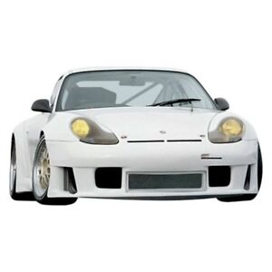 For Porsche 911 99 01 Front Under Spoiler Air Dam Bumper Lip Splitter Gt3 r