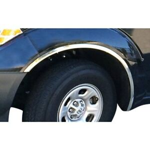 For Nissan Frontier 2005 2016 Carrichs Polished Front Rear Fender Trim