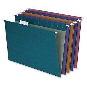 New Tops 10 Units 200 Pendaflex 35117 Recycled Paper Color Hanging Folders Wa77