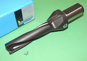 New Iscar 1 Indexable Serrated Drill 4xd Coolant Fed dz1000 4000 125 2 5
