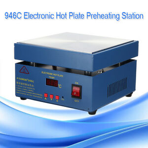 110v 850w 946c Electronic Hot Plate Preheating Station For Pcb Smd Heating Work