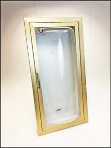 Jl Industries Fire Extinguisher Cabinet Recessed White Wall Mount Metal Aluminum