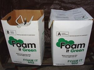 Foam It Green 602 Energy Efficient Home Kit Spray Foam Insulation