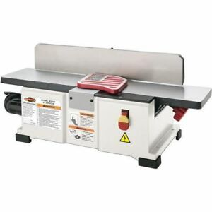 Shop Fox W1829 6 Benchtop Jointer W Free Extra Knife Set new In Box